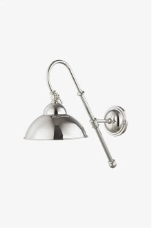 Derby Wall Mounted Single Straight Arm Sconce with Metal Shade STYLE: DYLT02