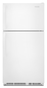 Standard-Depth Top-Freezer Refrigerator - White