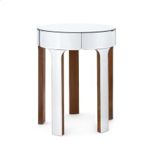 Bauer Side Table, Mirror