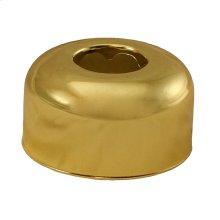 "Polished Brass Escutcheon 1-1/2"" OD Tubular Box Pattern"