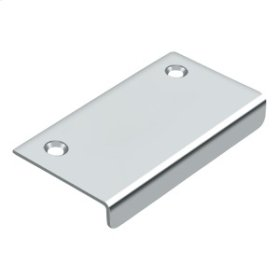 """Drawer, Cabinet, Mirror Pull, 3""""x 1-1/2"""" - Polished Chrome"""