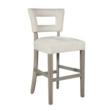 Meyers Bar Stool with Nailheads