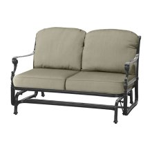 Grand Terrace Cushion Loveseat Glider
