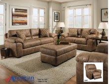 5400 Santa Fe Silt Sofa and Loveseat