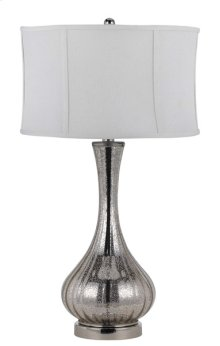 150W 3 WAY CAPREOL GLASS TABLE LAMP