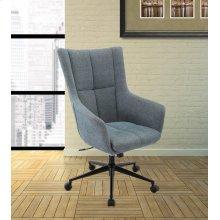 DC#206-AQU Fabric Desk Chair