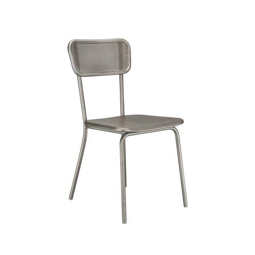 Stock Metal Method Mesh Back Chair