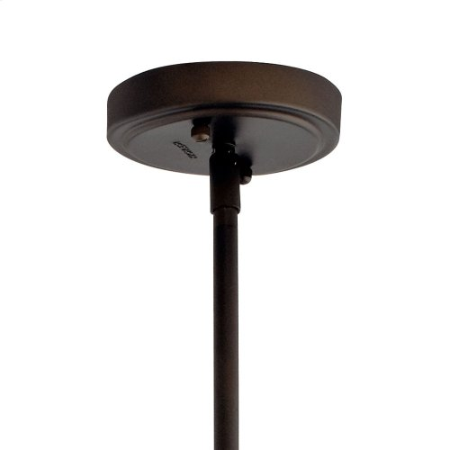 Everly 1 Light Wide Curve Pendant Olde Bronze®