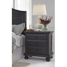 Timber and Tanning Three Drawer Night Stand