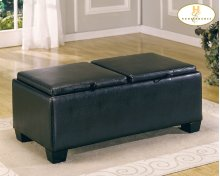 Rectangular Ottoman Cocktail Table with Storage