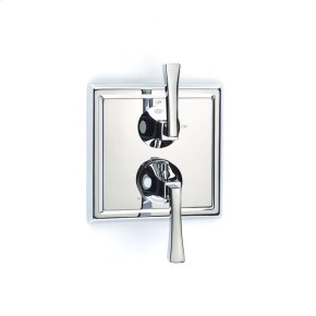 Polished Chrome Hudson (Series 14) Dual Control Thermostatic with Volume Control Valve Trim