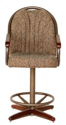 Stool Base (walnut & bronze) Product Image