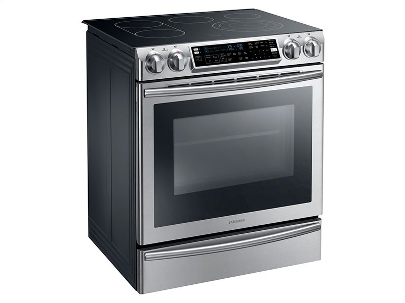 ... Glenside, PA - 5.8 cu. ft. Slide-In Electric Range with Flex Duo Oven