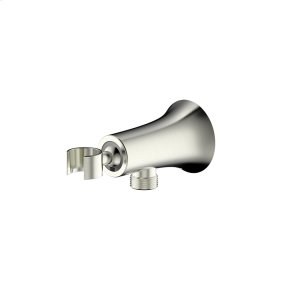Hand Shower Wall Bracket with Outlet River (series 17) Satin Nickel