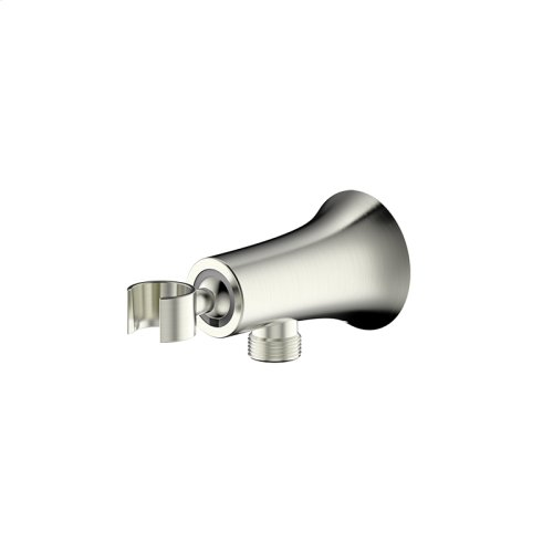 Hand Shower Wall Bracket with Outlet Taos (series 17) Satin Nickel