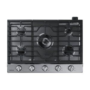"Samsung Appliances30"" Gas Cooktop in Stainless Steel"