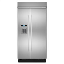 "48"" Built-In Side-by-Side Refrigerator with Water Dispenser"