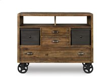 Media Chest (w/Casters)