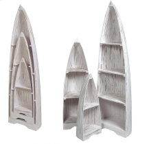 Sunset Trading Cottage 3 Piece Boat Shelves - Sunset Trading