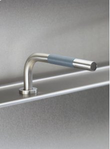 Deck mounted pull out hand shower, with 1,5 m hose - Grey