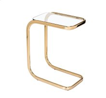 Saber Hugging Table - Brass