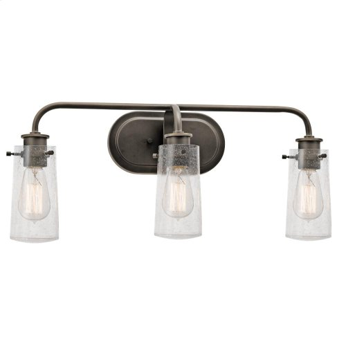 Braelyn Collection Braelyn 3 light Bath Light - Olde Bronze
