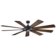 Gentry Collection 85 Inch Gentry XL Fan LED DBK