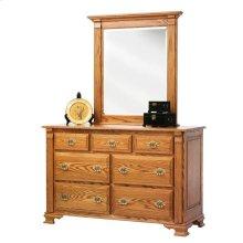 """Journey's End 56"""" Dresser- Mirror"""