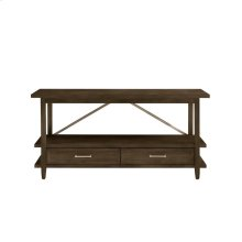 Chelsea Square Raisin Low Bookcase