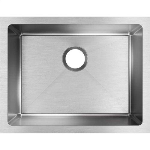 """Elkay Crosstown 16 Gauge Stainless Steel, 23-1/2"""" x 18-1/4"""" x 10"""" Single Bowl Undermount Sink"""