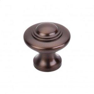 Ascot Knob 1 1/4 Inch - Oil Rubbed Bronze