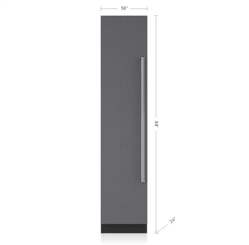 "18"" Designer Column Freezer with Ice Maker - Panel Ready"