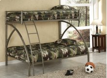 Twin/full Sand Bunk Bed