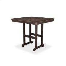 "Mahogany Nautical 44"" Counter Table"