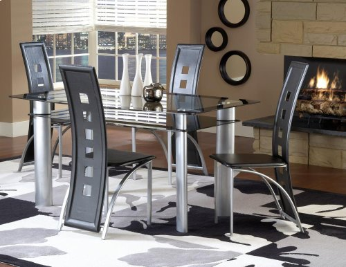 Metro Metal Dining Regular Height Table
