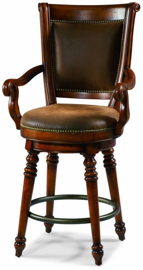 Waverly Place Return Memory Swivel Counter Stool