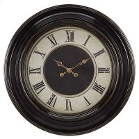 BLACK WITH ANTIQUE COPPER FINISH / ROMAN NUMBERS Product Image
