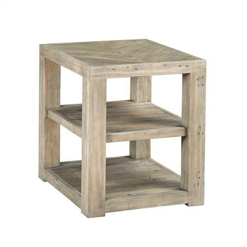 Reclamation Place Shelf End Table