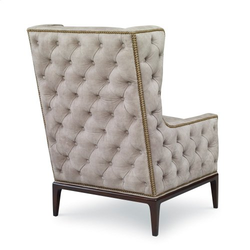 Claxton Wing Chair - Tufted Outside