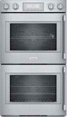 30-Inch Professional Double Wall Oven with Left Side Opening Door Product Image