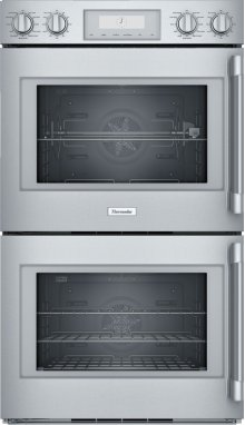 30-Inch Professional Double Wall Oven with Left Side Opening Door