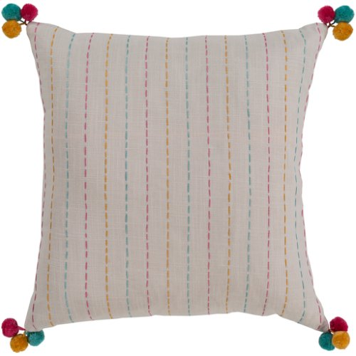 """Dhaka DH-004 18"""" x 18"""" Pillow Shell with Down Insert"""