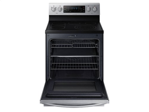 5.9 cu. ft. Electric Flex Duo Range with Soft Close Door