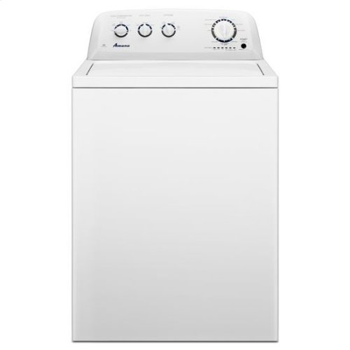 Amana® 3.6 cu. ft. Top Load Washer with Stainless Steel Tub - White