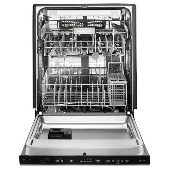 Kdpe334gps Kitchenaid Kitchenaid 39 Dba Dishwasher With Fan Enabled