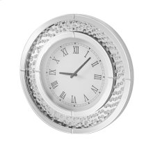 Modern 20 in. Contemporary round wall clock