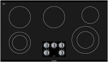 "36"" Electric Cooktop 500 Series - Black Frameless"