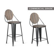 "Benjamin Counter Chair 19""x19""x40.5 Product Image"