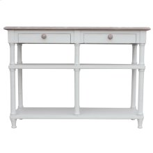 Island Hall Table-wht/rw