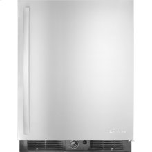 """Under Counter Refrigerator, 24""""(w), Euro-Style Stainless Handle"""